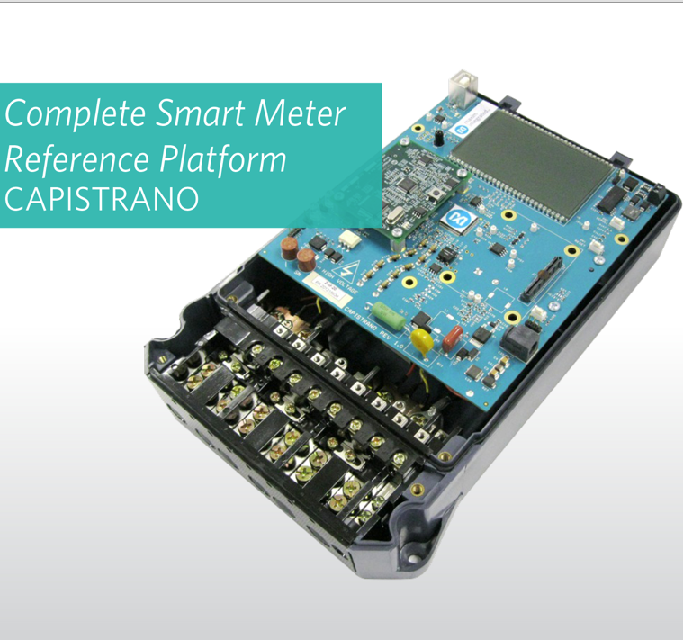 Maxim's smart-meter reference platform integrates metrology, security, and communications for a safer smart grid