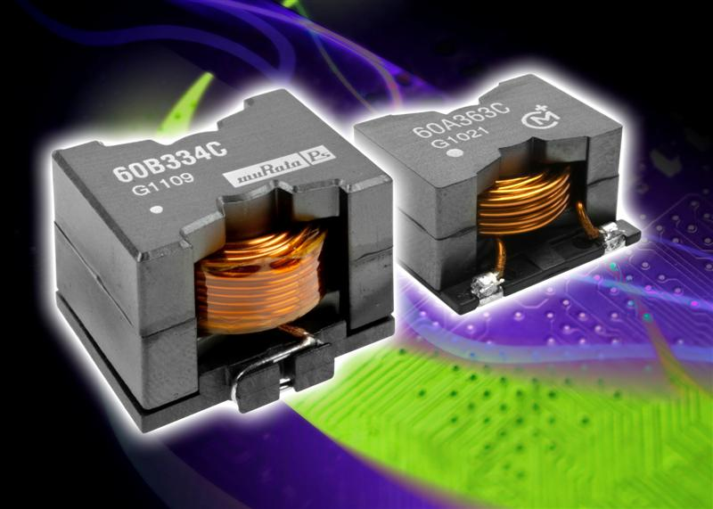 Surface mount power inductors offer lowest DC resistance and high current and inductance values