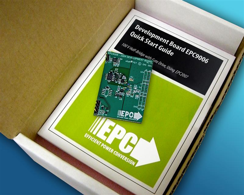 Efficient Power Conversion (EPC) Introduces EPC9006 Development Board Featuring Enhancement Mode Gallium Nitride (eGaN®) FETs