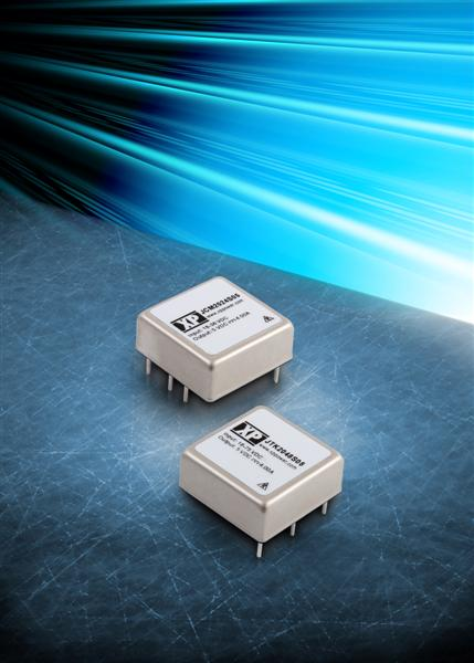 Ultra compact 20 Watt DC-DC converters achieve 51W/in� power density