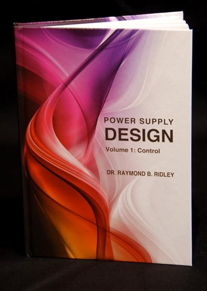 New Power Design Book from Dr Ray Ridley