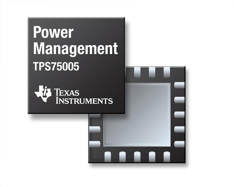 TI introduces power management IC for 32-Bit C2000™ real-time control MCUs