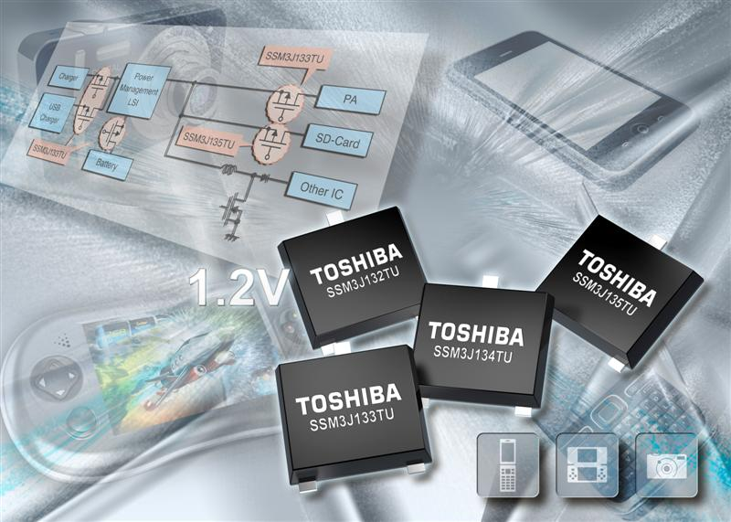 Toshiba Electronics announces next-generation MOSFETs for battery operated equipment
