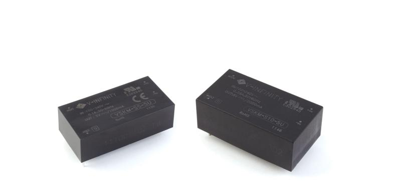 CUI Releases 5, 10 W Encapsulated Medical Power Supplies
