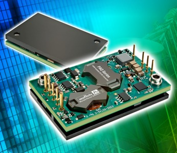 Converter well-suited for micro-cell transmitter and power amplifier apps