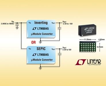 Converter delivers up to 700mA with four passive components