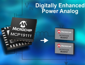 Analog-based power management controller integrates MCU for flexible & efficient power conversion