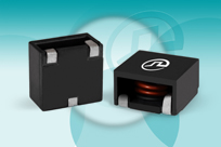 Round-wire Coil SMT Power Inductors offer tight DCR tolerance & no thermal aging