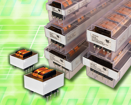 PC-mount split-pack transformers offer innovative design and economic performance