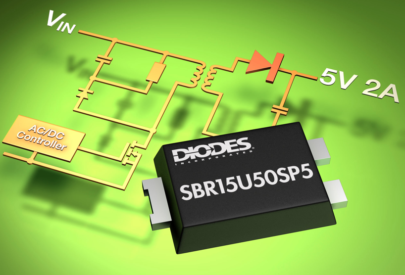 Super Barrier Rectifier helps reduce charger size