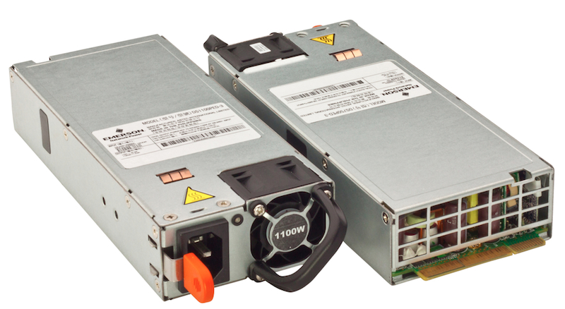 Compact bulk front-end supplies from Emerson boast high efficiency