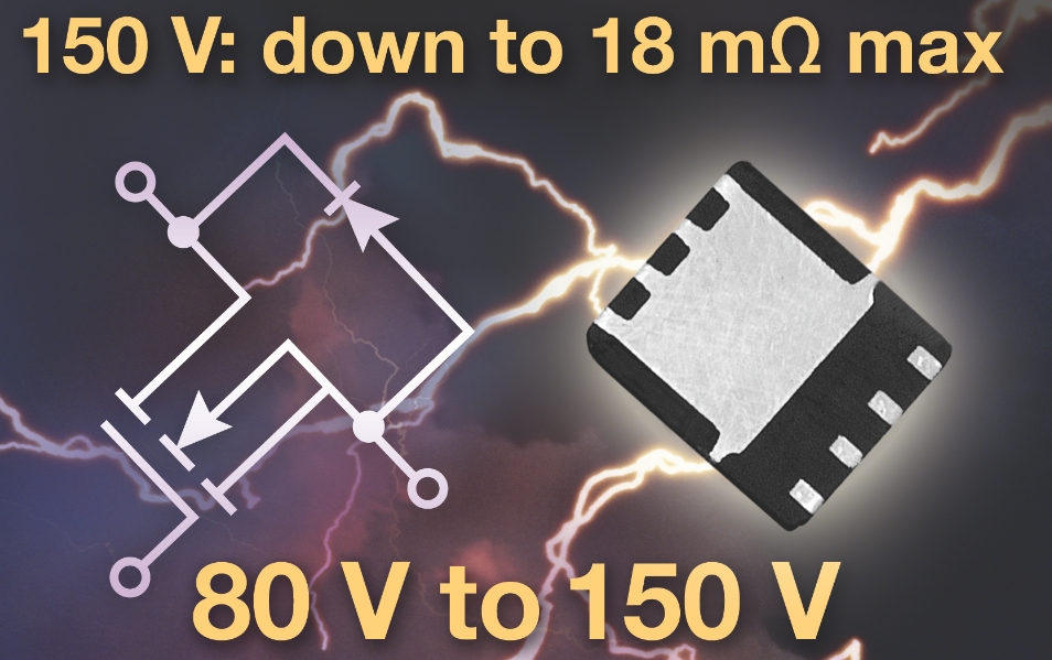 ThunderFET N-channel power MOSFET offers on-resistance as low as 18 m?