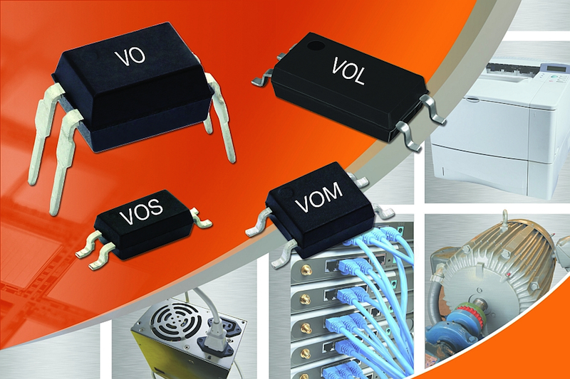 Rutronik offers compact low input current optocouplers from Vishay