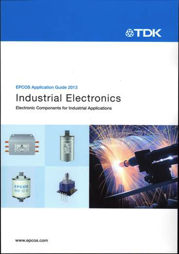 TDK brochure features EPCOS components for industrial applications
