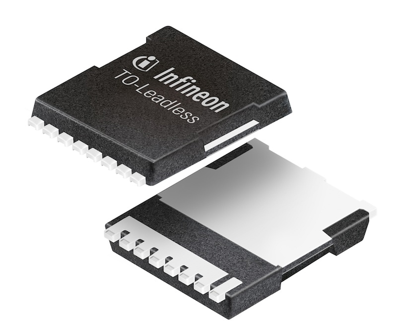Infineon introduces TO-leadless package for high-current applications up to 300A