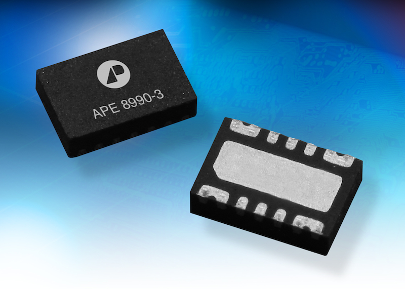 Mini dual load switch reduces loss in power-rail management apps