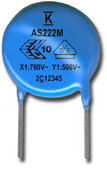 KEMET launches line of industrial-grade safety disc capacitors