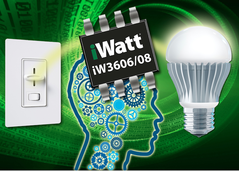 Single-stage SSL LED drivers boast exceptional bulb-dimming performance with lower BOM cost