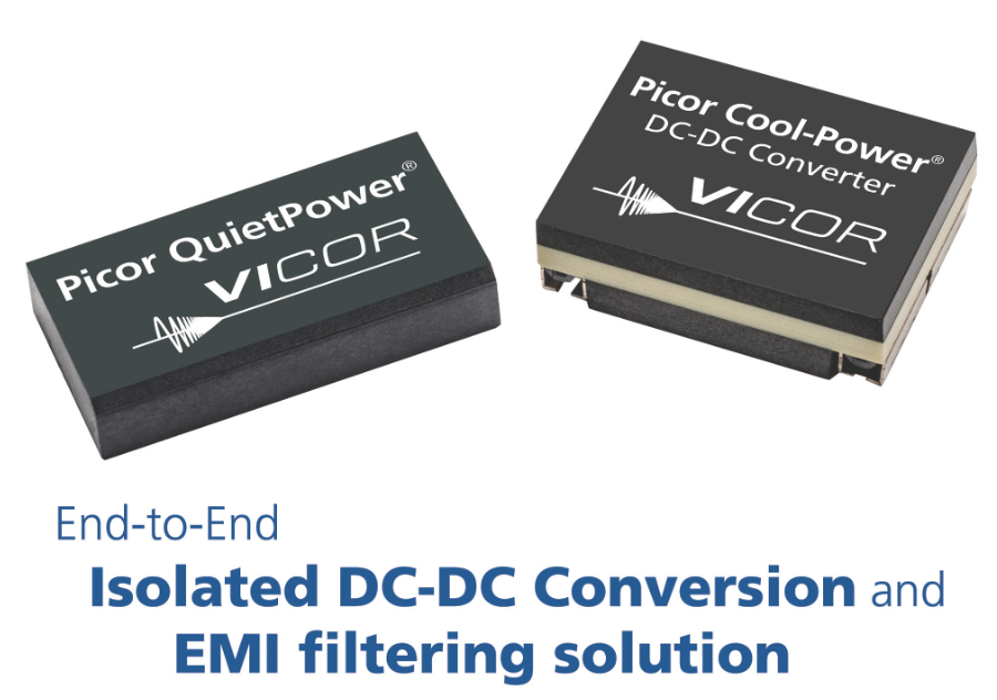 Vicor expands Picor isolated converter module lineup with high-density solutions