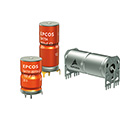 EPCOS axial-lead aluminum electrolytic capacitors serve in automotive electronics