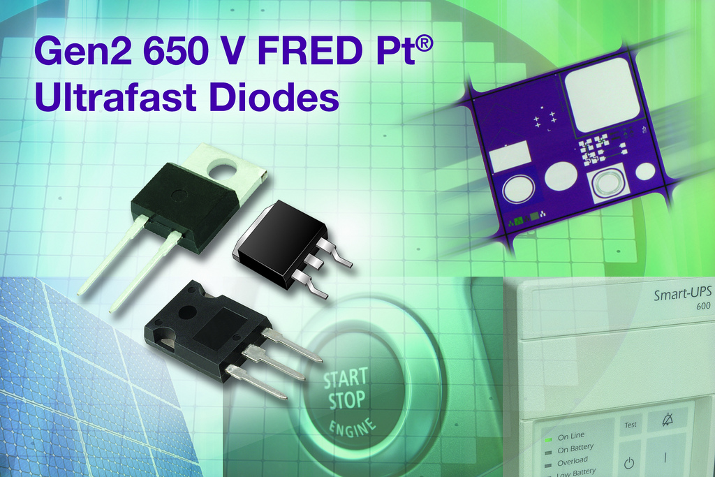Gen2 650-V ultrafast diodes reduce switching losses