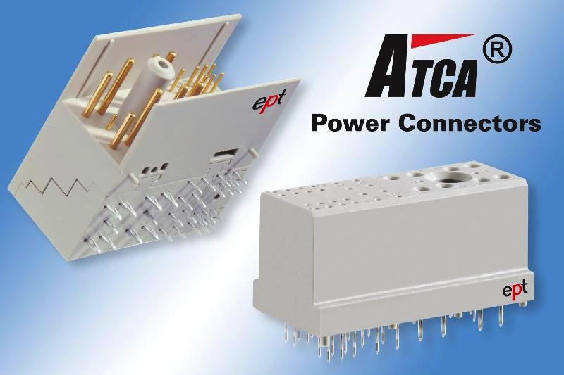Zone 1 power connectors suit AdvancedTCA systems