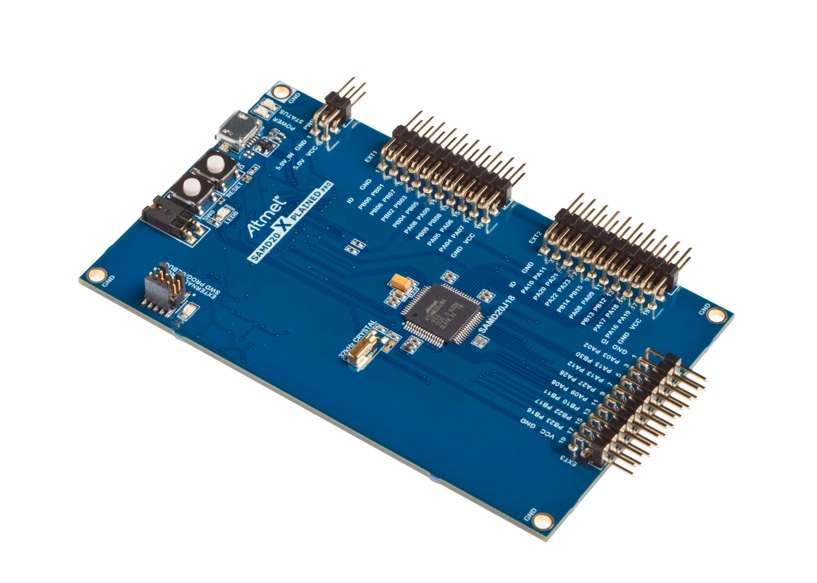 Atmel releases low-power ARM Cortex-M0+ microcontroller family