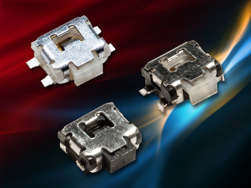 C&K's microminiature side-actuated switch increases operating life