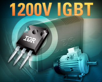 Efficient IGBTs deliver higher power density for motor drive and UPS apps