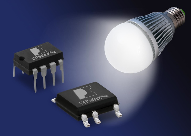 LYTSwitch-0 highly-integrated LED-driver ICs target low-power LED bulbs