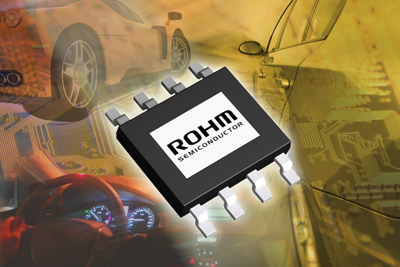 Compact highly efficient power supplies from Rohm address automotive apps
