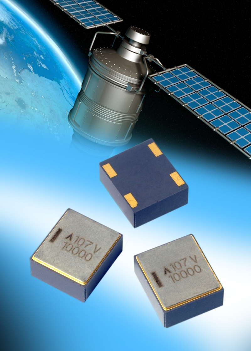 AVX sealed tantalum polymer capacitors address aerospace/hi-rel apps