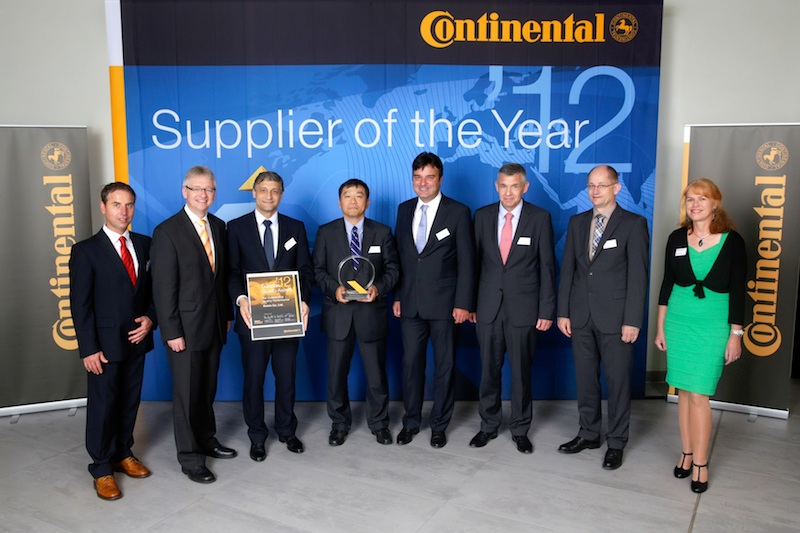 ROHM receives quality supplier award from Continental