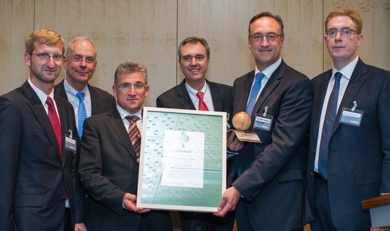 Infineon receives sustainability award from Bombardier Transportation