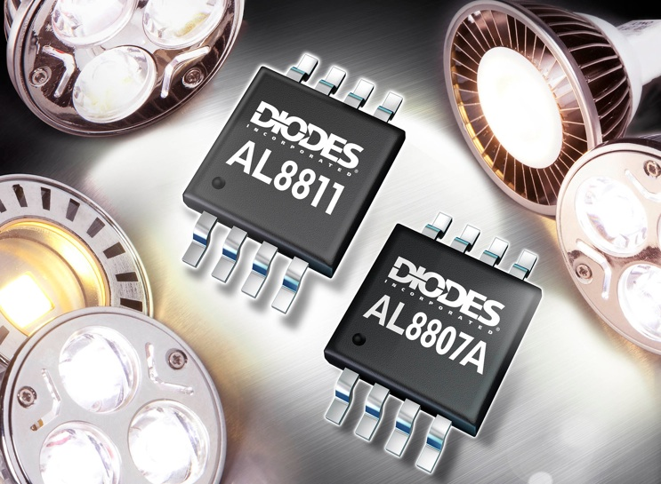 DC/DC converter from Diodes Incorporated saves space in LED lighting apps