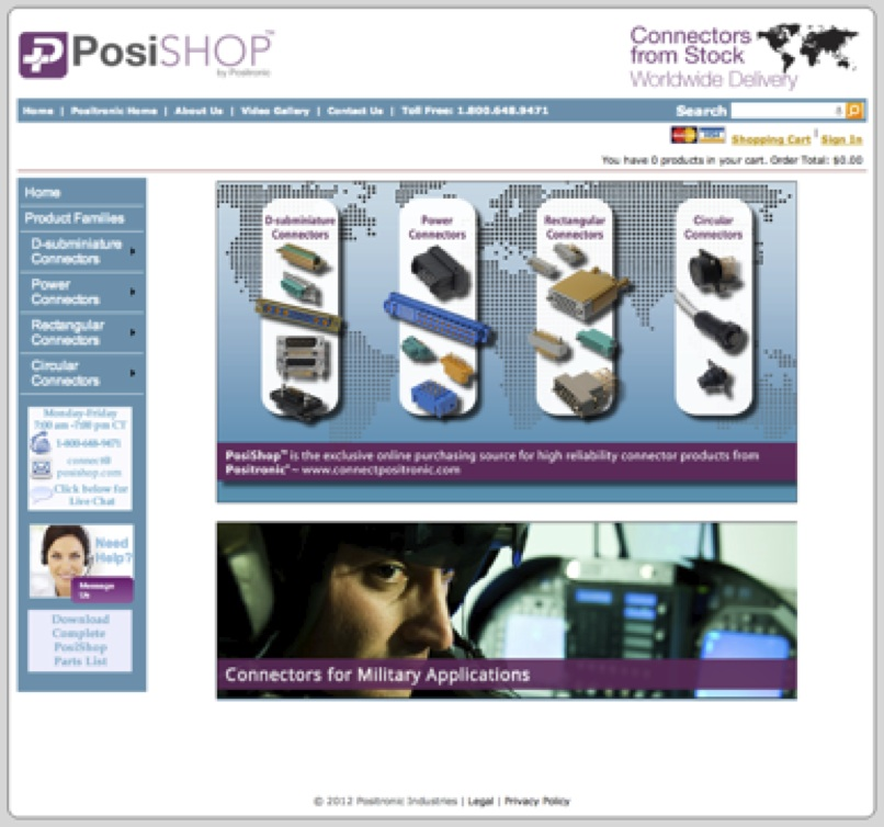 Positronic announces new e-commerce portal, PosiShop