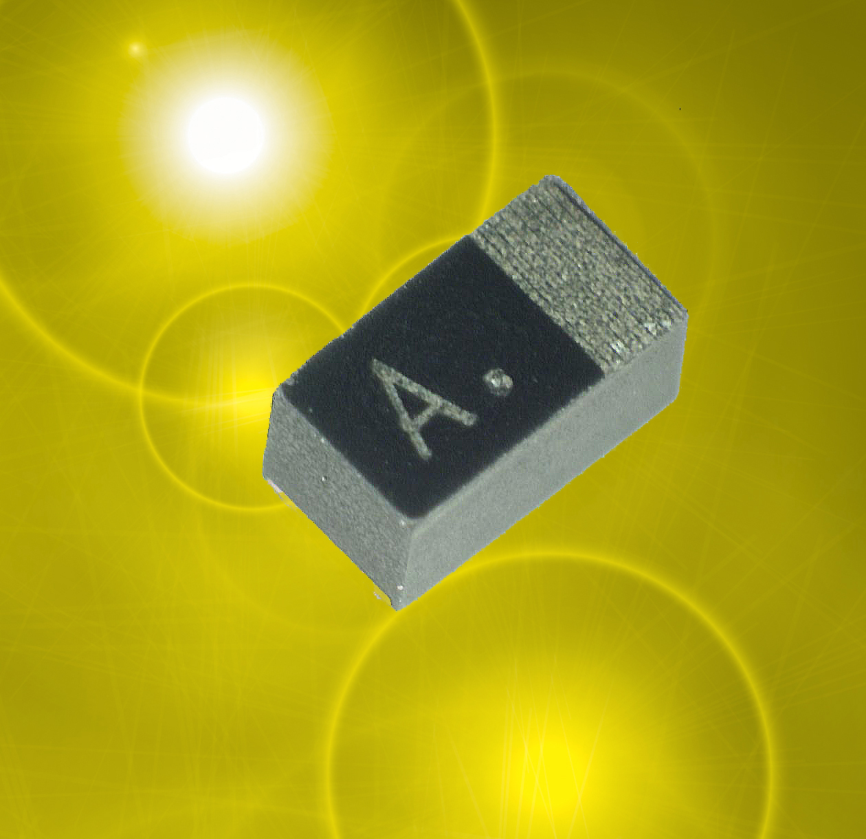AVX Intros mini frameless tantalum poly capacitors for consumer apps