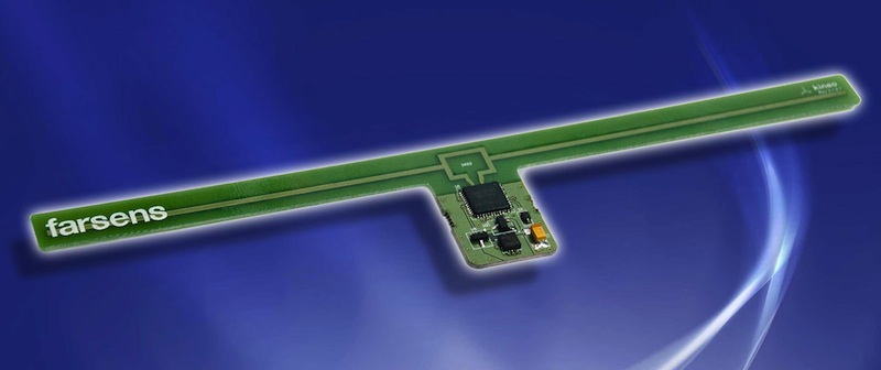 Battery-free RFID tag provides orientation data
