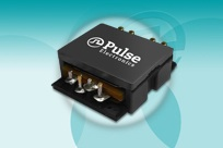 Pulse Electronics' low-loss SMT flat-coil planar transformers handle 500W