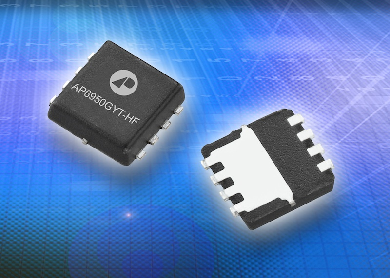 Advanced Power Electronics' dual-channel MOSFETs simplify synchronous buck design