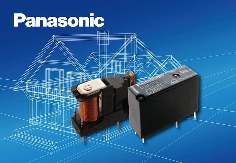 Panasonic ALDP slim power relay now available from TTI