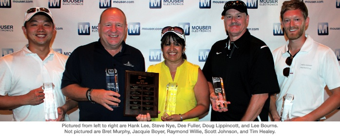 Mouser recognizes industrys Best-in-Class of 2013