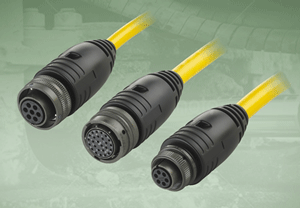 TURCK's rugged overmolded Mil-Spec cordsets handle harsh applications