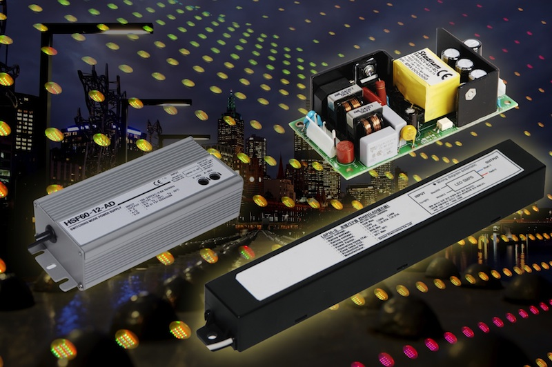LED drivers from Stadium Power serve a wide range of indoor and outdoor apps