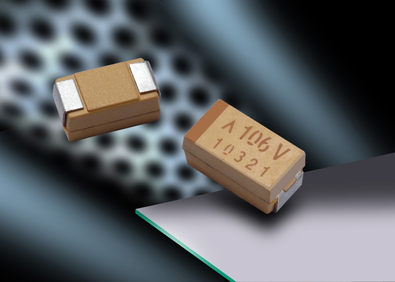 AVX significantly expands its portfolio of tantalum polymer capacitors