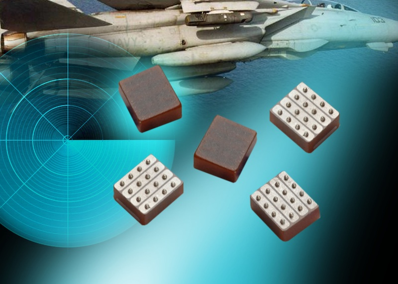 LICA low-inductance decoupling cap arrays from AVX target hi-rel mil/aero apps