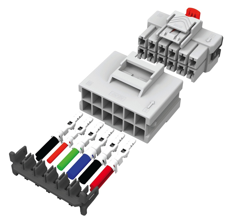 TE Connectivity's Power Triple Lock wire-applied connector system now available from TTI