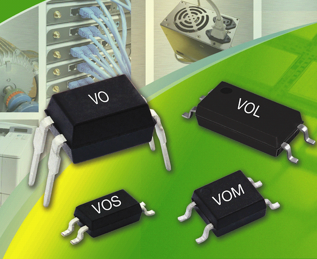 Vishay's low-current optocouplers offer multiple CTR ranges, now available from TTI