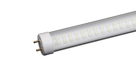 LED flourescent-replacement tubes deliver an industry-leading 130 lumens per watt