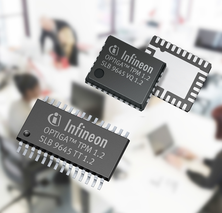 Infineon OPTIGA security chips serve industrial & embedded environments, support next-gen TPM 2.0 firmware